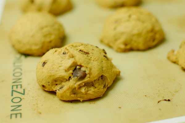Pumpkin Chocolate Chip Cookies. Come here, beautiful.