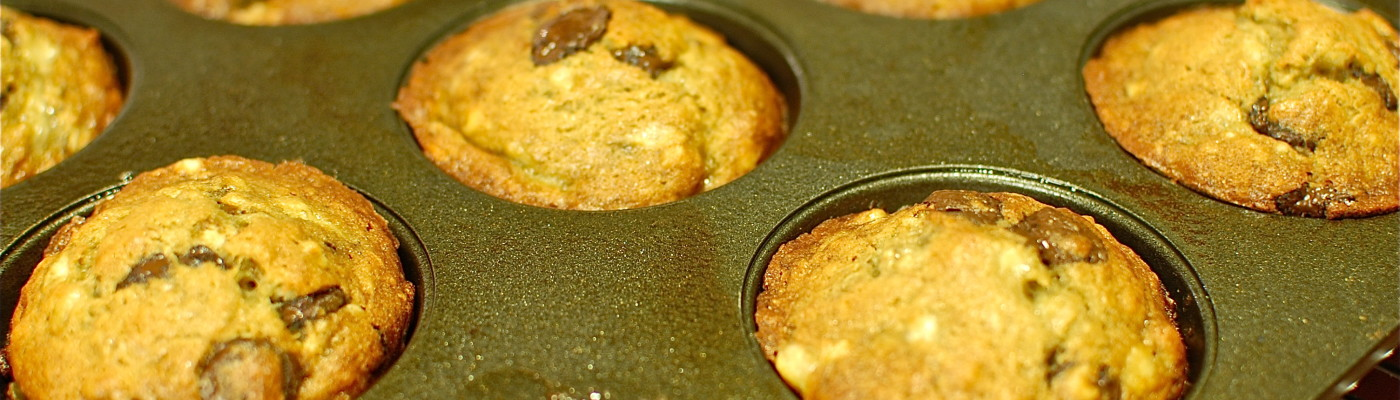 Muffins out of the oven