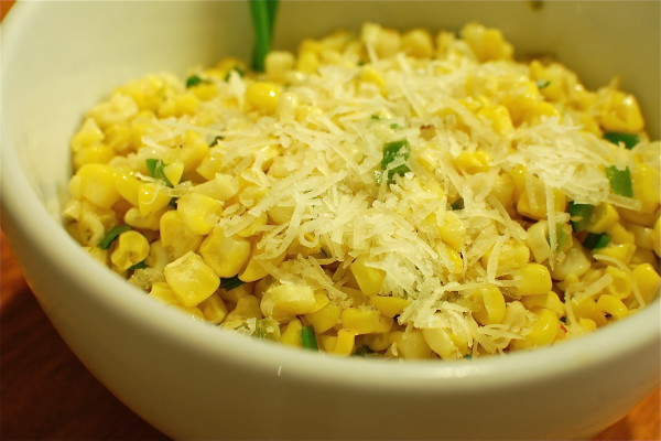 Roasted Corn with Manchengo