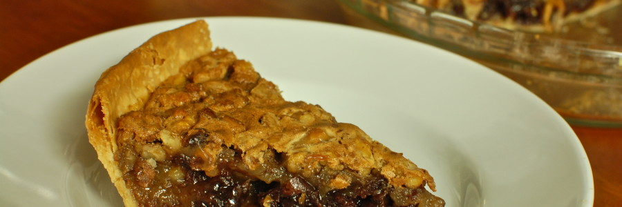 Caramel Walnut Pie