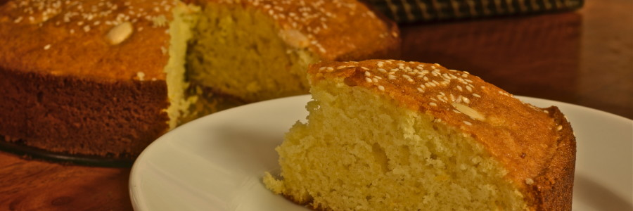 Greek New Year's Cake (Vassilopita)