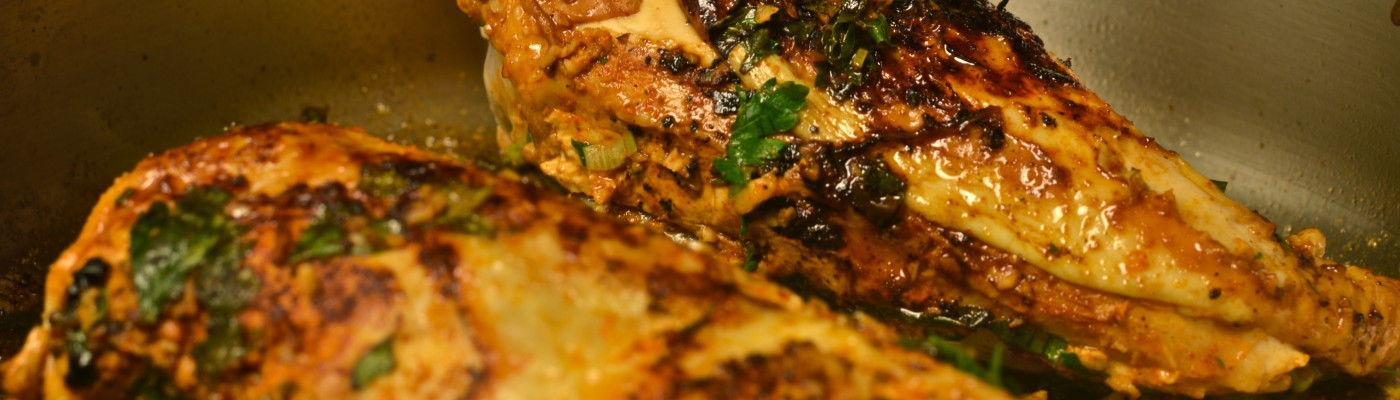 Roasted Chicken with Artichoke Panzanella
